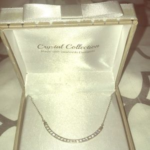NWT Crystal Collection Swarovski necklace